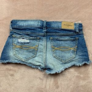 abercrombie kids Bottoms - Abercrombie Kids Distress Denim Shorts